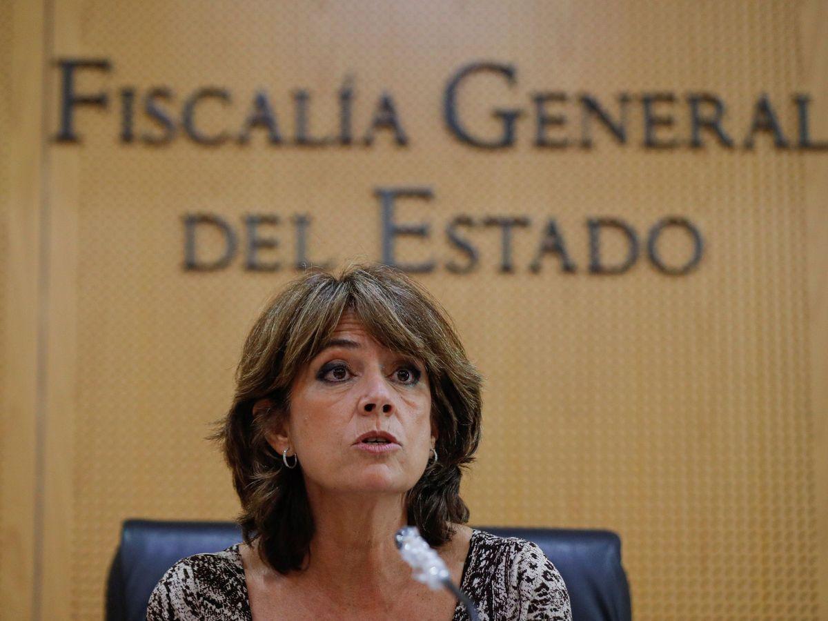 Foto: La fiscal general del Estado, Dolores Delgado, en un acto.