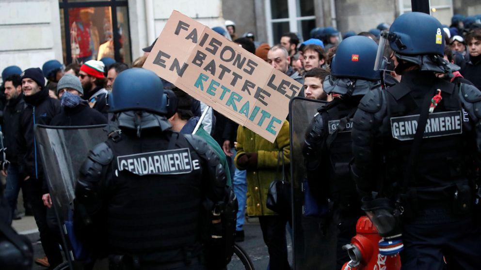 Sistema de puntos y unificación: Macron propone una polémica reforma de pensiones