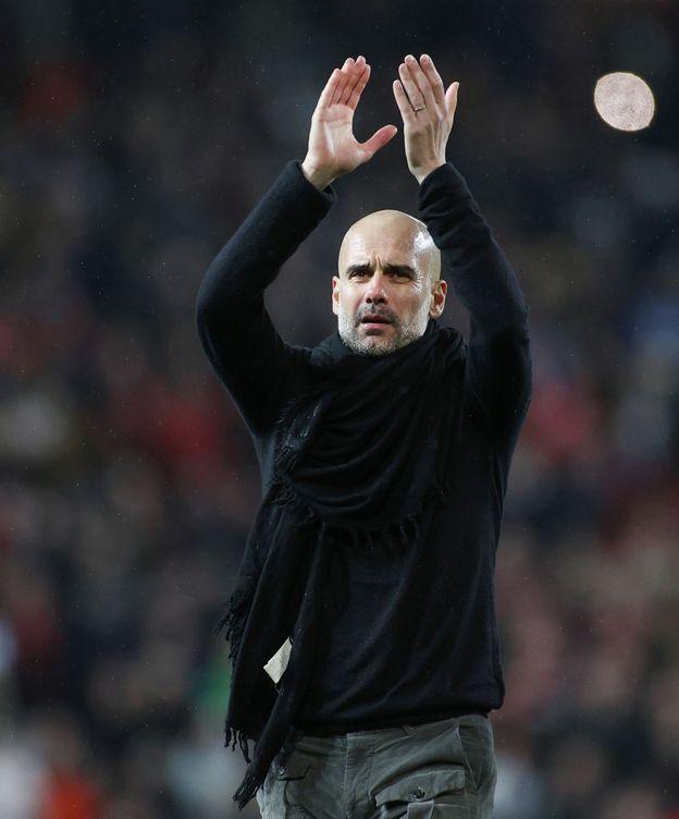 Foto: Pep Guardiola, técnico del Manchester City. (Reuters)