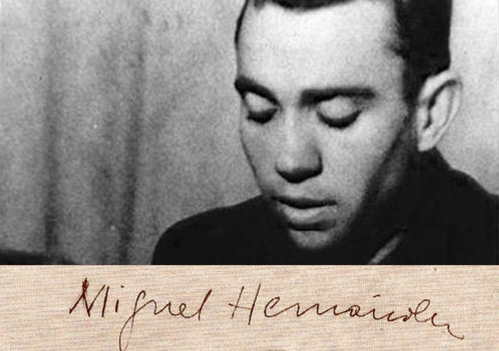"""Foto: Miguel Hernández: """"Que no se repita conmigo la muerte de García Lorca"""""""