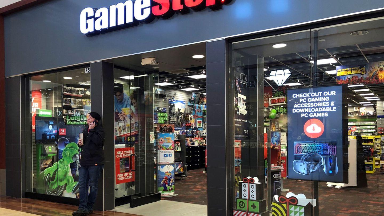 Tienda GameStop en EEUU (Reuters)
