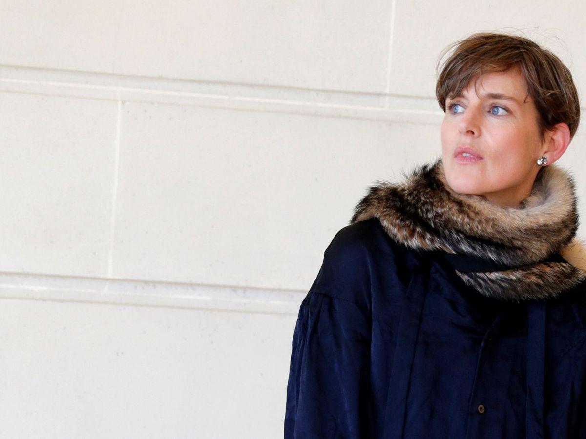 Foto: Stella Tennant, en un evento de Chanel, en París. (Reuters)