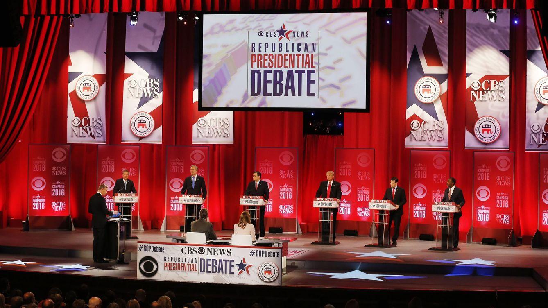 Dos candidatos republicanos se enzarzan en directo sobre quién habla mejor español