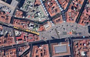 Sareb y Barclays, a la greña por un edificio en la Puerta del Sol