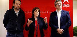 Post de Podemos busca argumentos en Lisboa para recelar de la 'solución a la portuguesa'