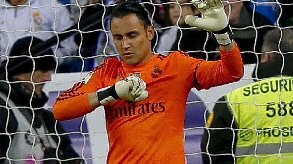 La portería del Madrid: Casillas, Keylor Navas, De Gea... ¡y dos huevos duros!