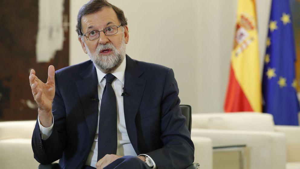 Rajoy, sobre el artículo 155: No descarto nada absolutamente, todo a su tiempo