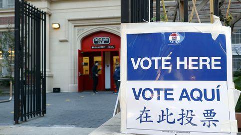 Una mujer de parto se detiene para votar en Estados Unidos antes de llegar al hospital