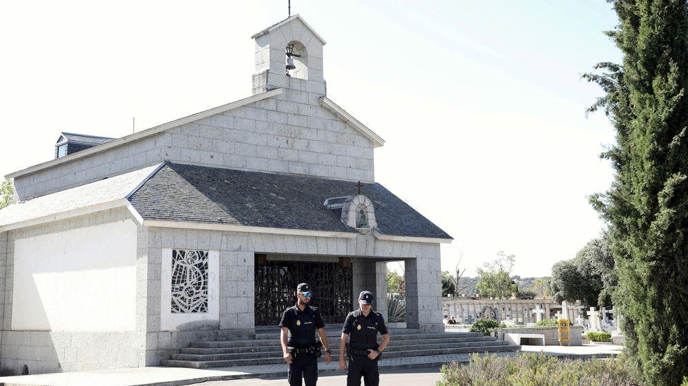 Foto: Cripta donde será enterrado Franco. (Reuters)