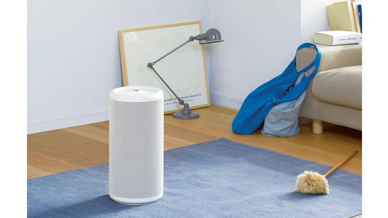 Foto: A partir de 395€, este purificador de aire está disponible en www.muji.com y en las tiendas de Rambla Catalunya, 81 (Barcelona) y Calle Goya, 9 (Madrid).