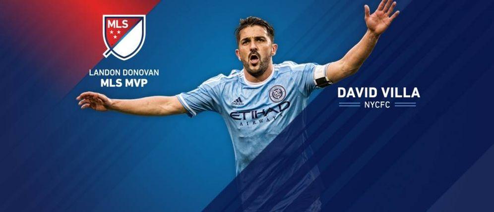 Foto: David Villa ha completado una sobresaliente temporada en el New Yoprk City (ILUSTRACIÓN: www.mlssoccer.com)