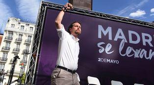 Podemos: yonquis de la tele
