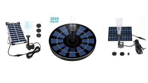 Las mejores bombas de agua solares para bombear agua de la forma más limpia
