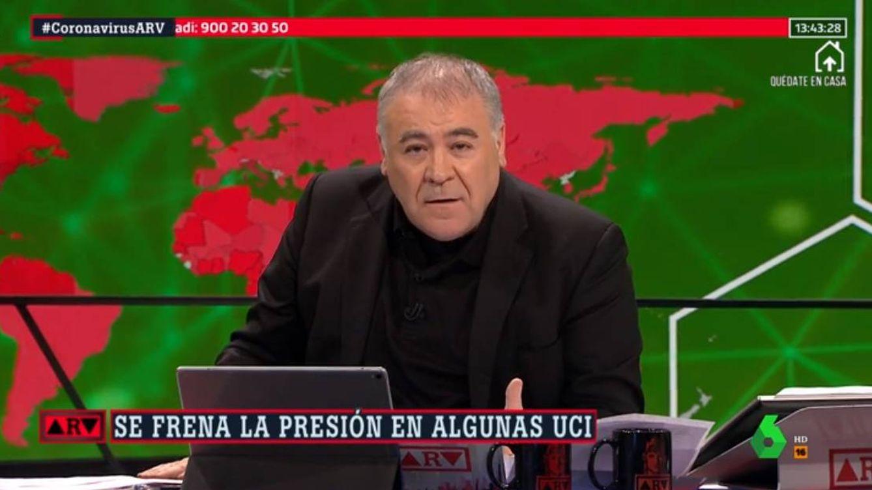 'Al rojo vivo'   Ferreras carga contra el PP andaluz: Utilizan Canal Sur como su corralito particular