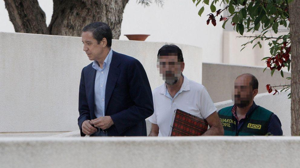 El PP de Valencia recoge firmas para pedir la libertad de Zaplana por su salud