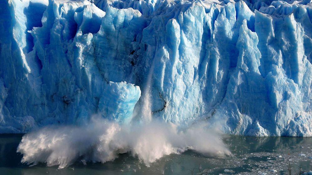 Foto: Los océanos y glaciares, termómetro del cambio climático. (EFE)