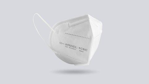 Nuevas mascarillas del CSIC: así son las FFP2 con filtros viricidas 'made in Spain'