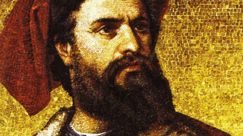Foto: Retrato de Marco Polo en la exposición, 'Marco Polo: Man & Myth'