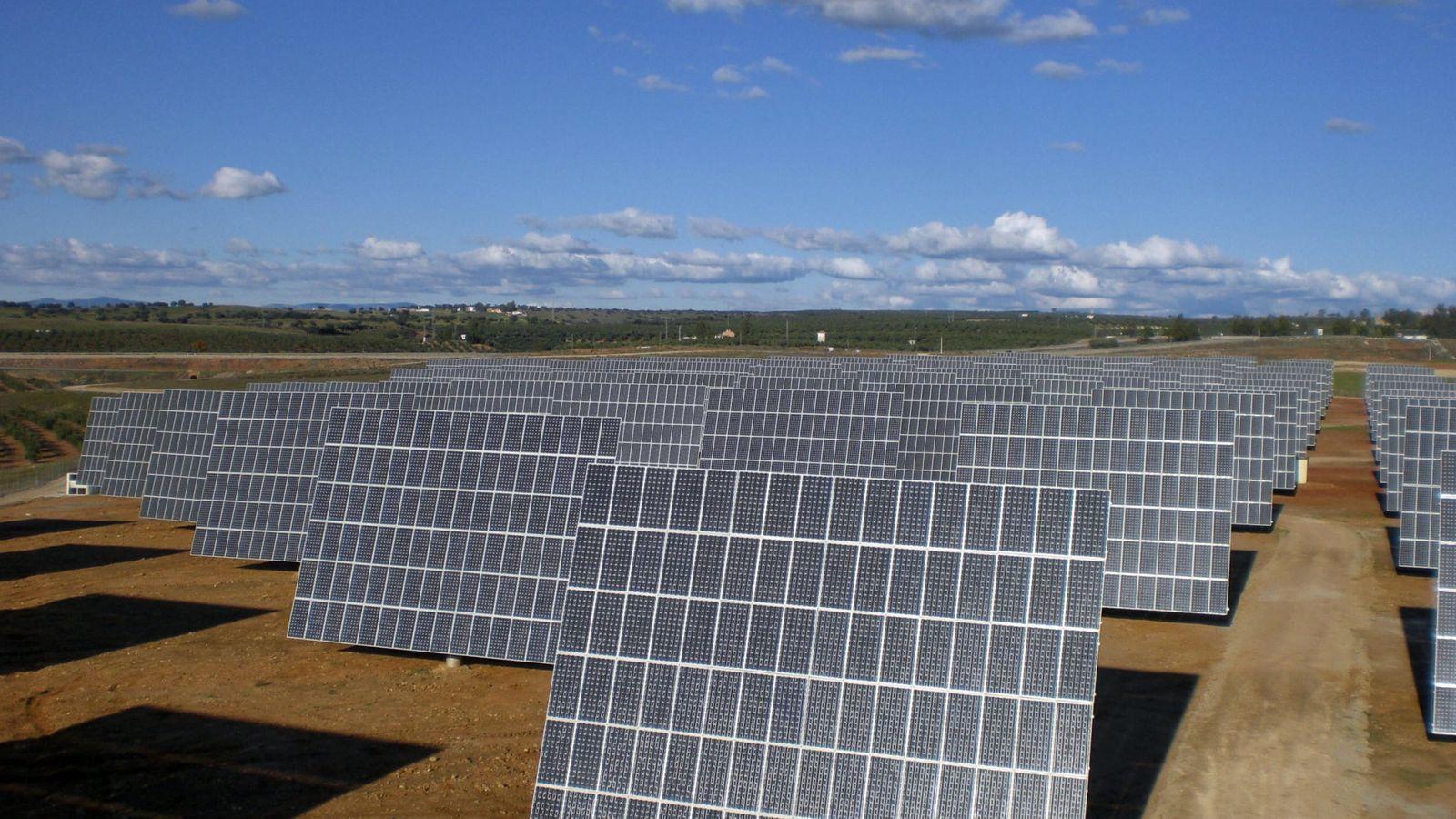 Foto: Fotografía de un parque de energía solar fotovoltaica. (EFE)