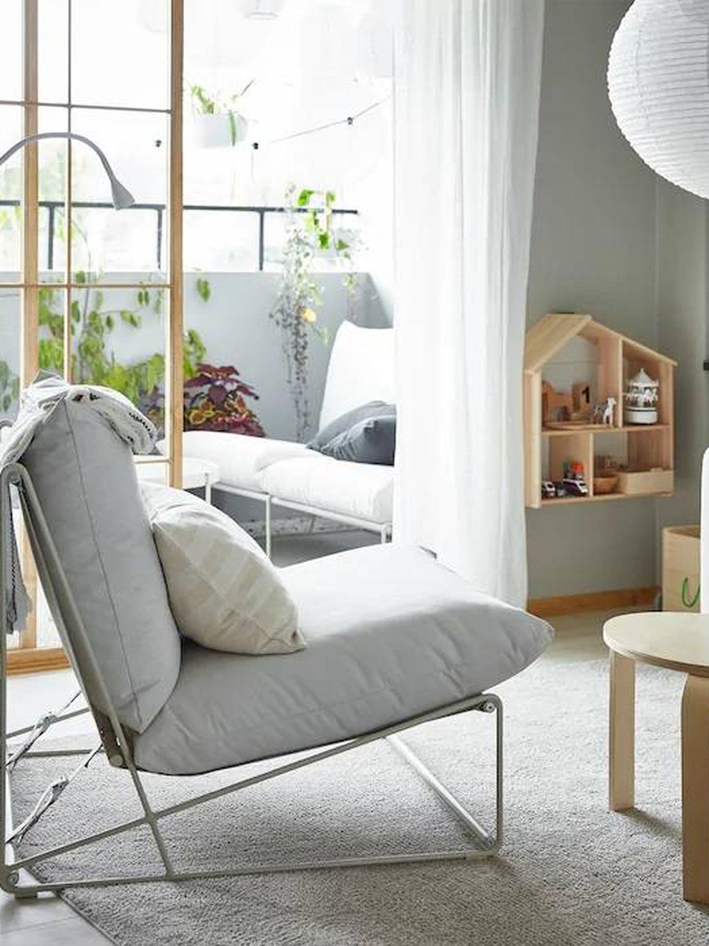 Los colores blancos y la luz no deben faltar, como en esta estancia de Ikea. (Cortesía)