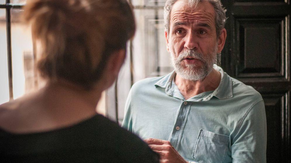 Foto: El actor Willy Toledo en el Teatro del Barrio (Carmen Castellón)