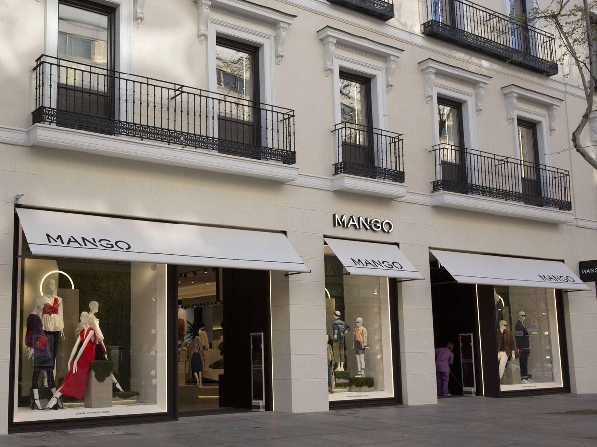 Foto: Una tienda de Mango.