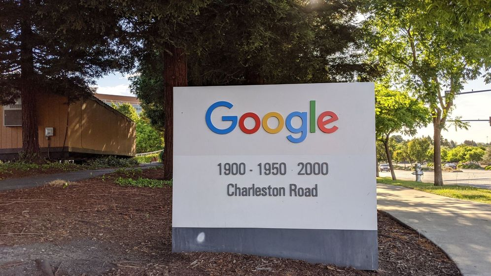 Foto: Entrada a las oficinas de Google en Mountain View, California. (EFE)