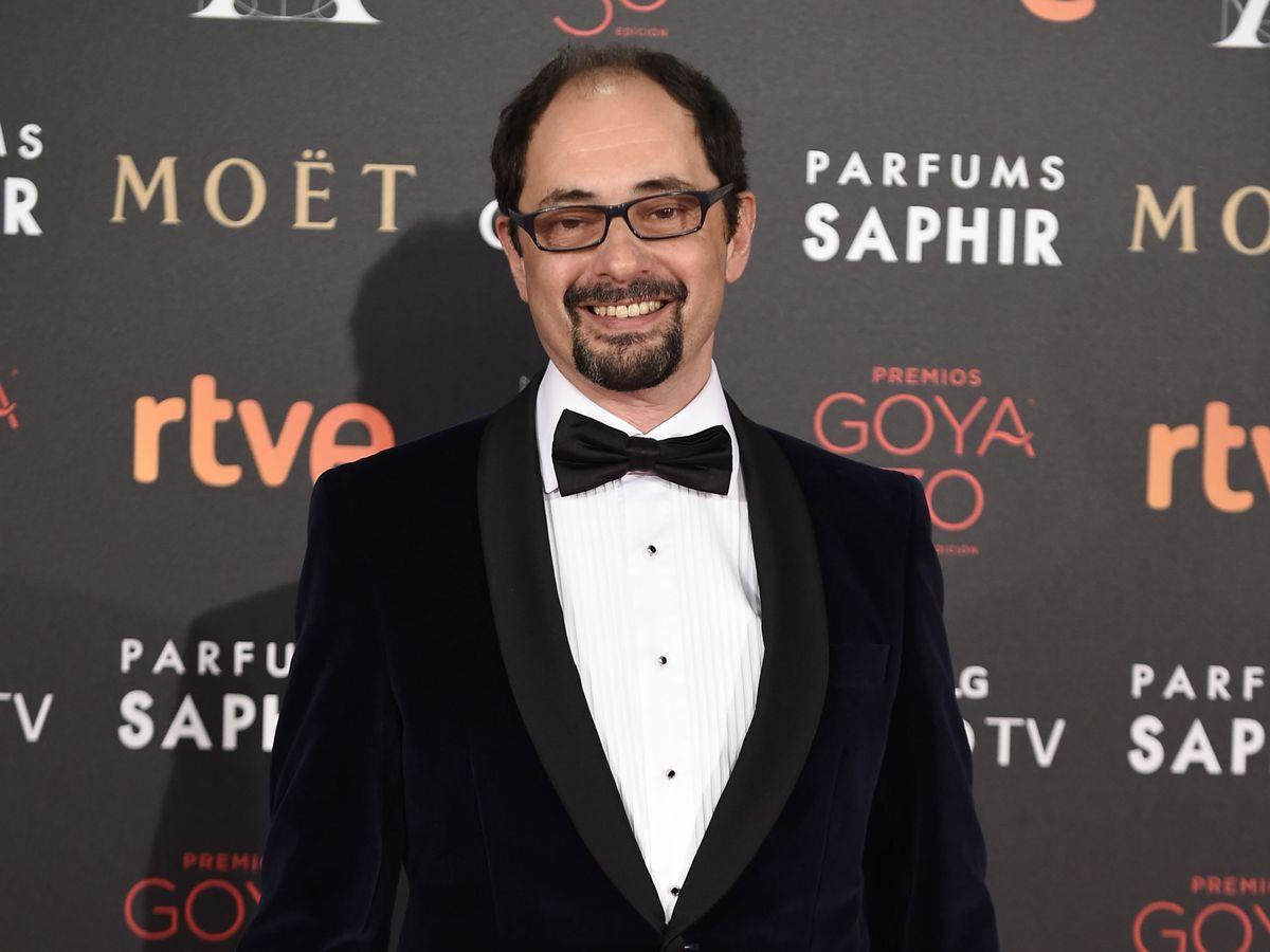 Foto: Jordi Sánchez, en la gala de los Premios Goya de 2016. (EFE)