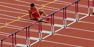 El infortunio de un atleta supremo