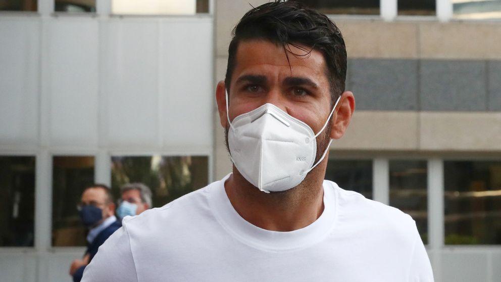 El peor Diego Costa está al día con Hacienda, pero en deuda con el Atlético de Madrid