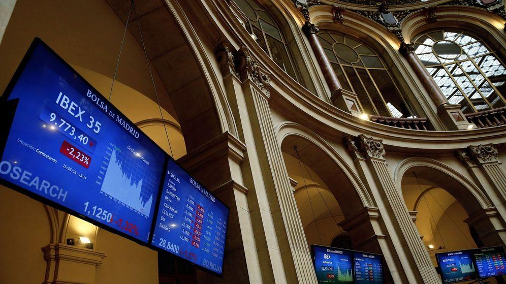 Foto: Indicadores del IBEX 35 en la Bolsa de Madrid | EFE