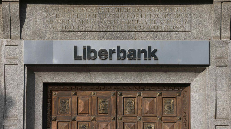 Foto: Logotipo de Liberbank. (EFE)