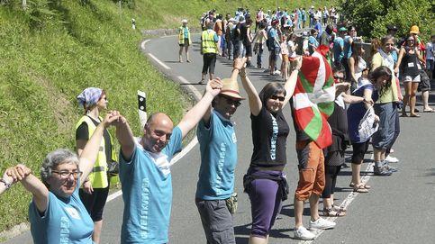 Plebiscito y cadena humana: la 'ANC vasca' eleva la presión independentista en la calle