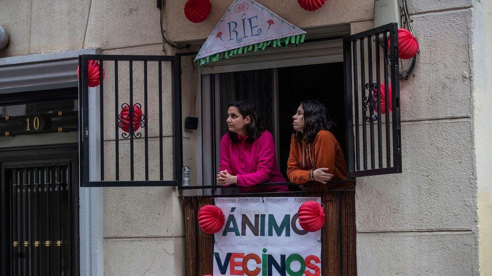 2 de mayo, festivo confinado en Madrid: la fiesta se recicla por los héroes del covid-19