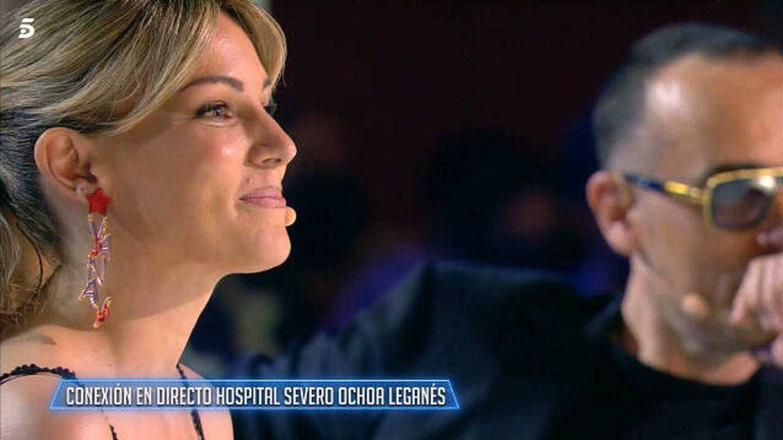 Edurne, en 'Got Talent'. (Mediaset)