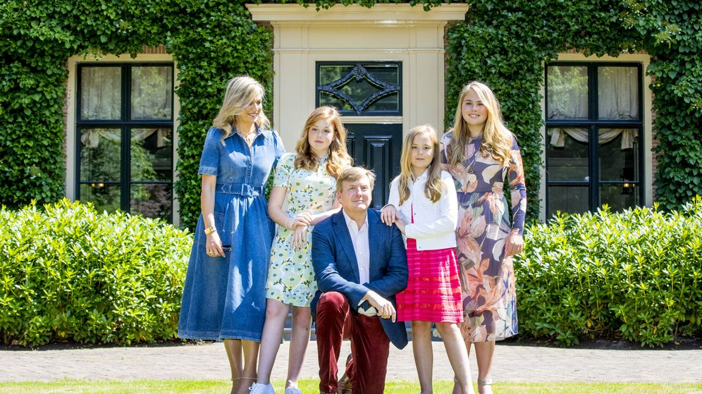 Foto: La familia real holandesa. (Getty Images)