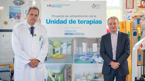 La Fundación Mutua financiará la renovación de la Unidad de Terapias del Hospital Niño Jesús