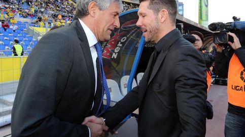 Los dardos entre Simeone y Setién y la pelea estilística en el fútbol español