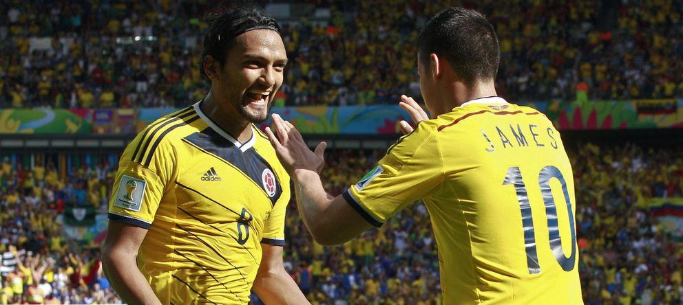 Colombia no echa de menos a Falcao gracias al virtuosismo de James contra Grecia