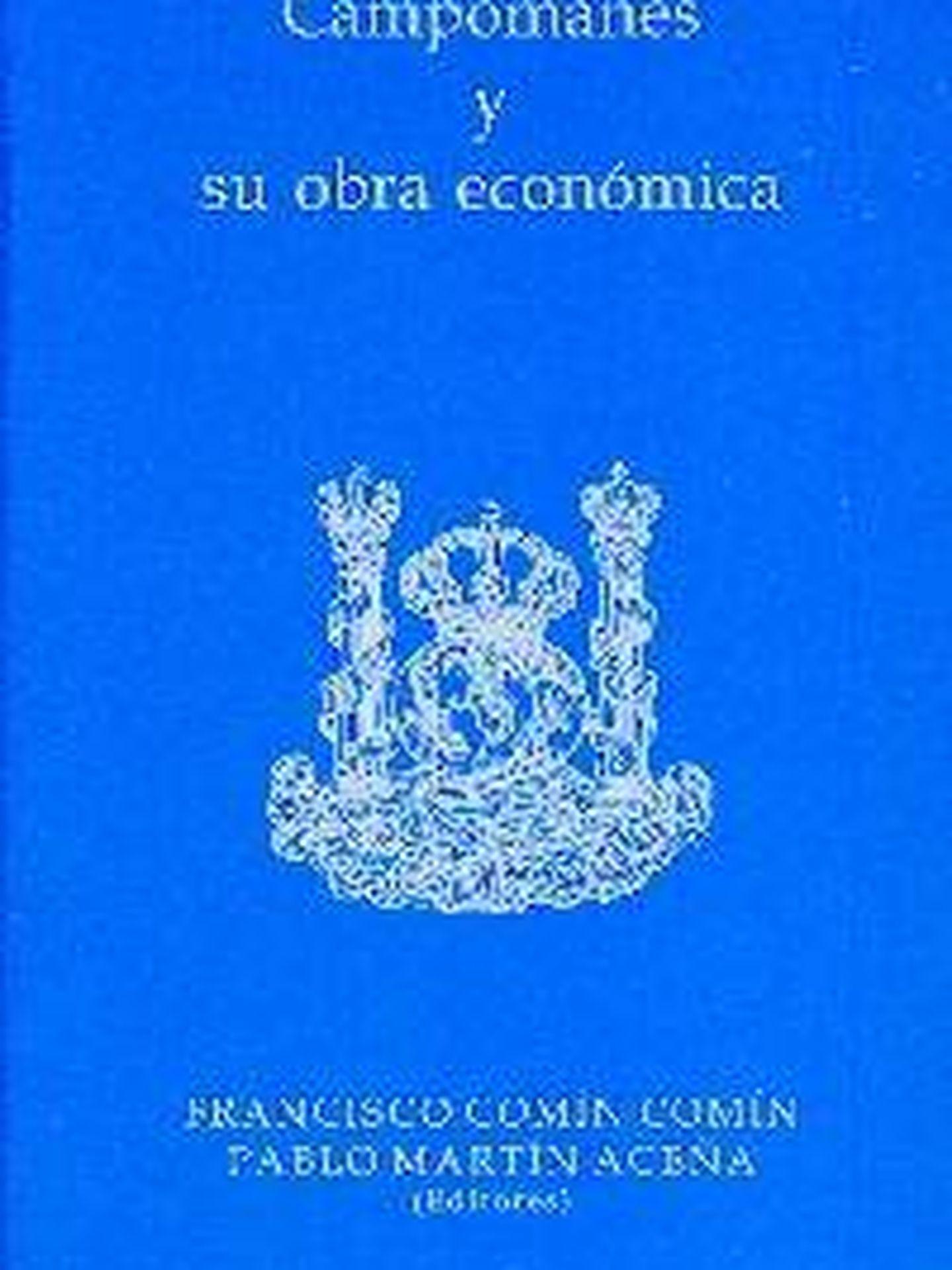 Portada de 'Campomanes y su obra económica'.