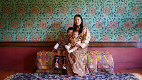 La reina de Bután y sus hijos, protagonistas en las celebraciones del Día Nacional