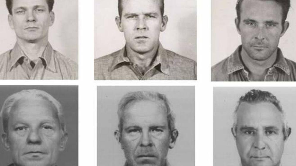 Foto: Fotos de los fugitivos antes y después de salir de Alcatraz. (Reuters)