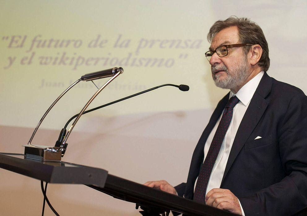 Foto: Juan Luis Cebrián, consejero delegado de Grupo Prisa