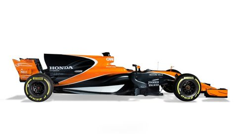 El nuevo McLaren naranja de Fernando Alonso: Espectacular y sexy por fuera