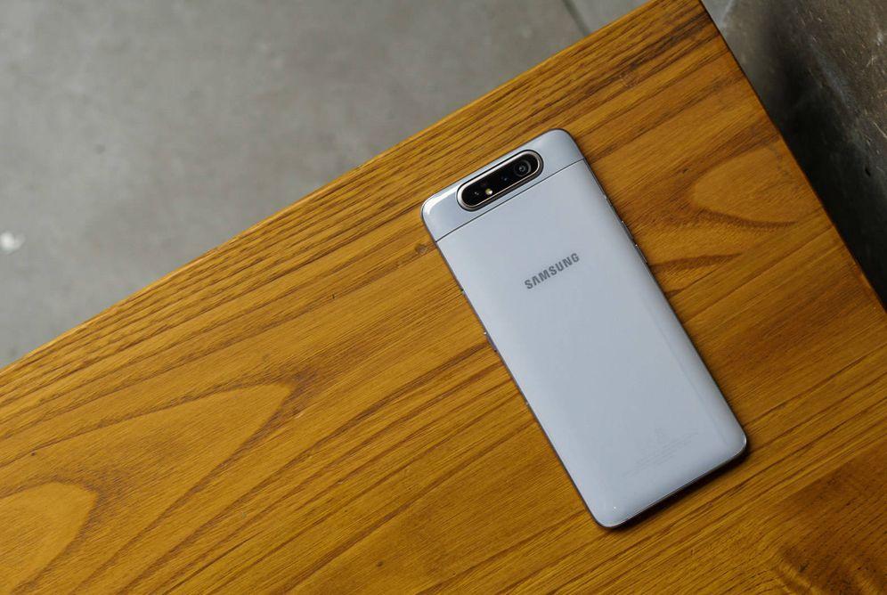 Foto: Samsung Galaxy A80. Foto: M. Mcloughlin.