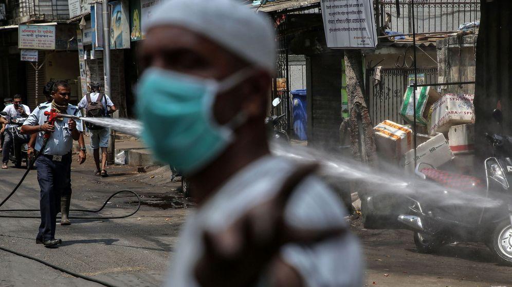 Foto: Mumbai, en la India. (EFE)