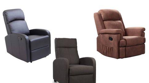 Los sillones reclinables más cómodos para tumbarte a descansar