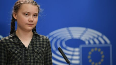 La activista más famosa, en el corazón contaminador de las instituciones europeas