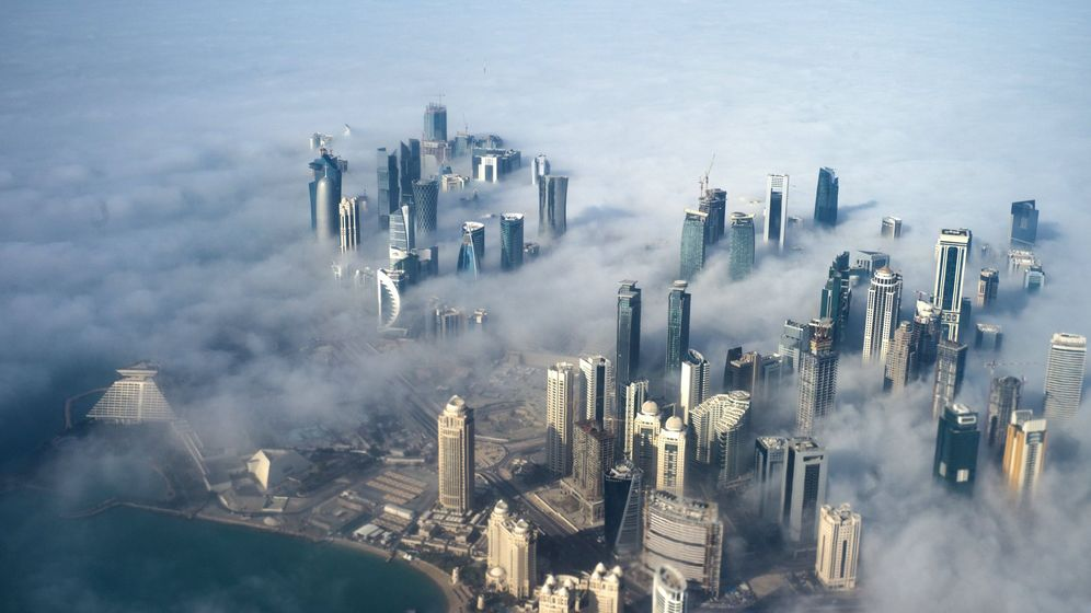 Foto: Vista aérea de Qatar. (Reuters)