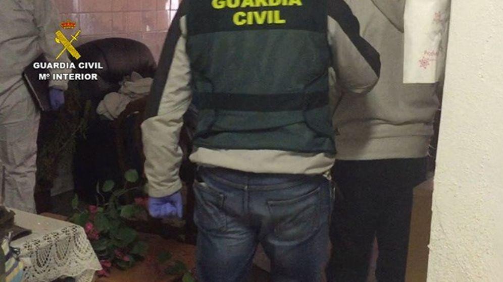 Foto: La Guardia Civil encontró muchas pistas en el lugar de los hechos